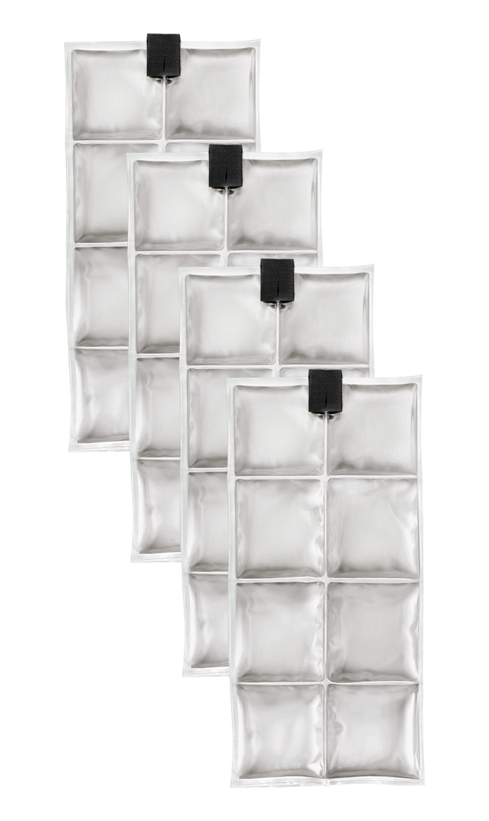 Coolpac 24˚C / 75˚F - 8 cells White (set of 4 units)